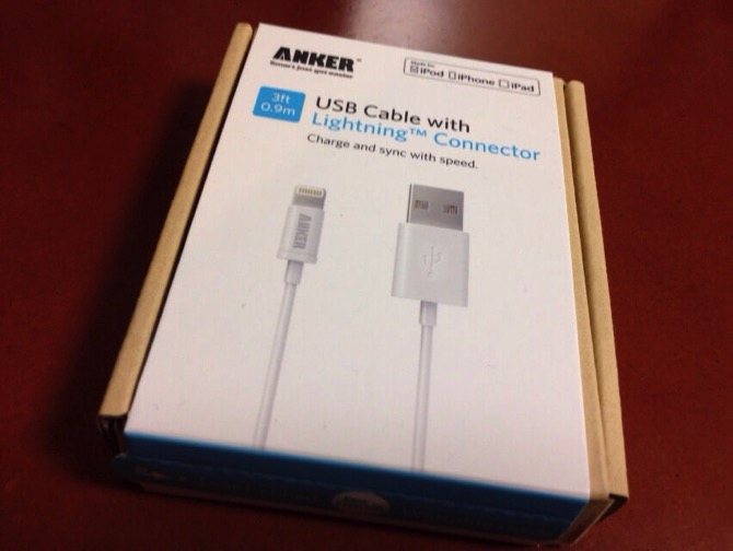 Anker apple lightning cable 1