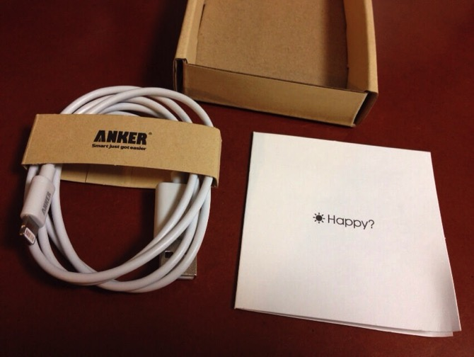 Anker apple lightning cable 6