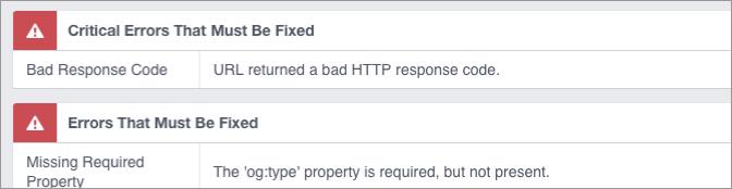 Facebook debugger ogp 2