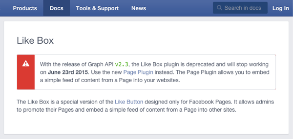 Facebook page plugin 3