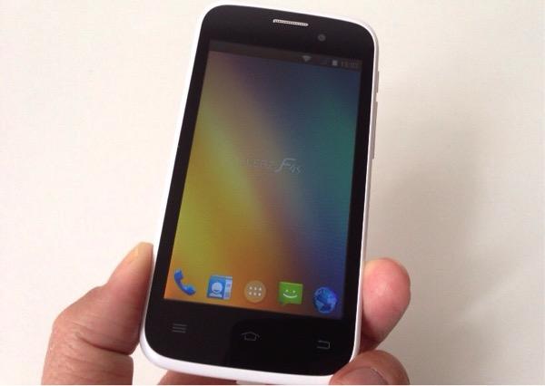 Android4.4搭載の低価格(約1万円)SIMフリースマホ「FLEAZ F4s」を購入!ファーストインプレッション