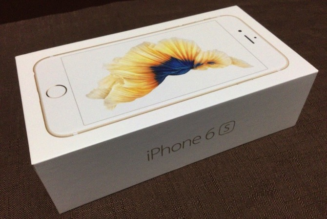 Iphone 6s unboxing 2