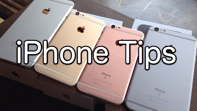 Iphone tips summary