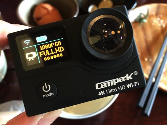 Camparkのカメラ部分。