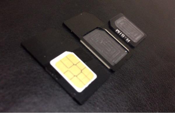 Sim adapter nano micro 4