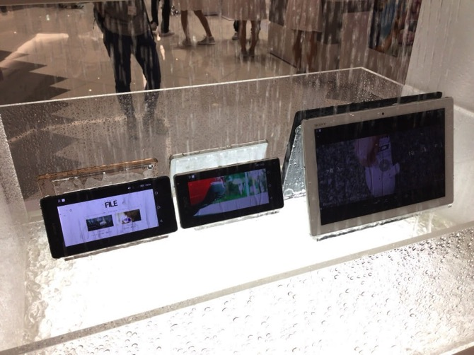 Xperia z4 tablet touch and try event 1